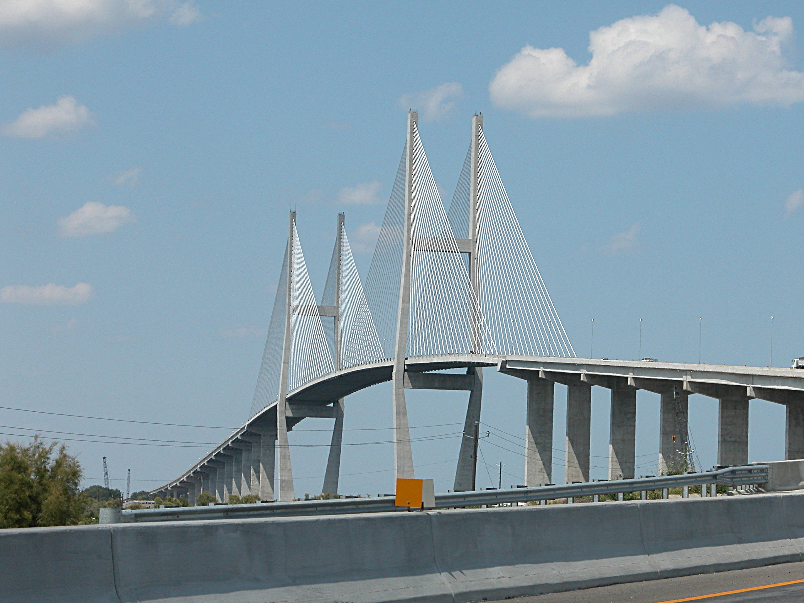 Building the new cooper river bridge the arthur ravenel for How to become a builder in ga